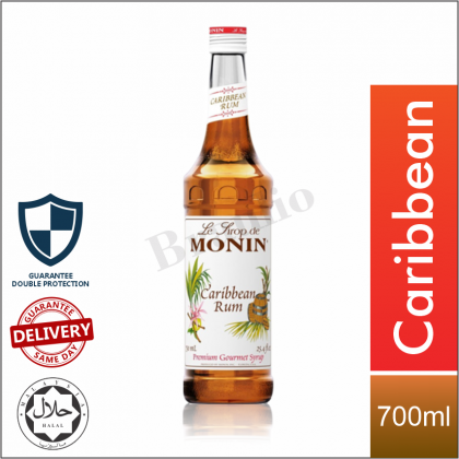 Monin Syrup Mango Chocolate Frosted Mint Orange Carribean Yum Lemon Lime Pure Cane Sugar Flavour - 700ml [Limited Time Only]